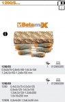 Beta 1290/S5 Zestaw wkrętaków płaskich BETAMAX 5szt