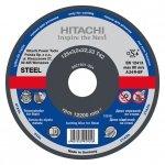 HITACHI Tarcza do cięcia stali A24R 115x3,0x22,2mm płaska - STANDARD