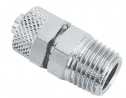 ADLER Złączka zaciskowa gwint 1/4z  8x6mm