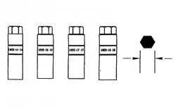 Jonnesway Klucz do amortyzatorów HONDA, NISSAN AN050011-14