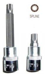 Jonnesway Klucz wpustowy SPLINE M9x100 z nasadką 1/2 S64H4209
