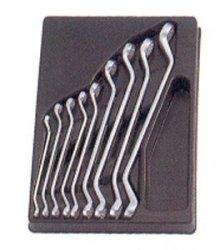 KLUCZE OCZKOWE ODGIĘTYCH 45° 9cz. 8-26mm KING TONY
