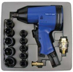 ADLER Zestaw klucz udarowy 354Nm 1/2  z nasadkami AD007Z