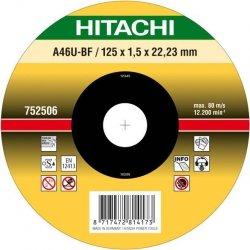 HITACHI Tarcza do cięcia metalu INOX 150x1,5x22,2mm płaska - PREMIUM