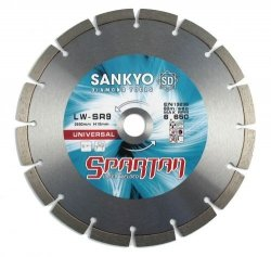 Tarcza diamentowa 180 mm do cięcia betonu kamienia LWSR-7.0 segm. 180 x 3,0 x 10 x 22,2mm