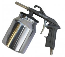 ADLER Pistolet 6mm 4-8bar do piaskowania 1000ml