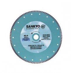 Tarcza diamentowa 125 mm do cięcia cegieł betonu kamienia RD-5 ciągła, karbowana 125 x 2,0 x 6 x 22.2mm