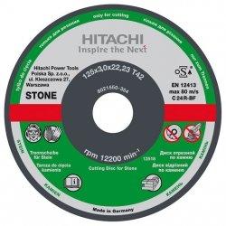 HITACHI Tarcza do cięcia kamienia C24R 125x3,0x22,2mm płaska - STANDARD
