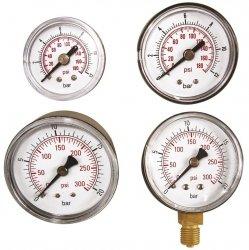 ADLER Wskaźnik ciśnienia 0-12 bar 1/8 tylny