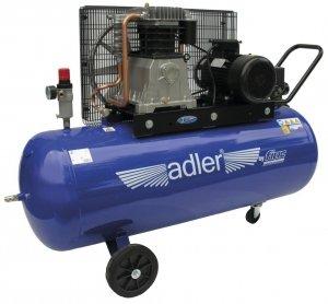 ADLER sprężarka dwucylindrowa 10bar 200L AD 598-200-4TD