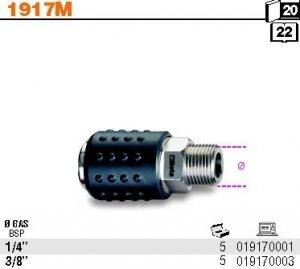 Beta 1917M/3/8 Gniazdo szybkozłącza uniwersalne kulkowe 3/8