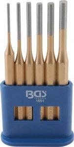 BGS Wybijaki cylindryczne 3-8mm 6 szt.