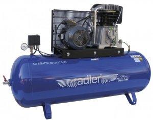 ADLER sprężarka dwucylindrowa 15bar 270L AD 858-270-7,5TD
