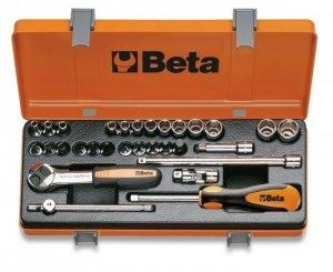 Beta 900/C24 Zestaw nasadek 1/4 z akcesoriami 30szt