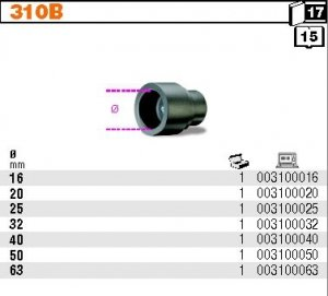 Beta 310B/16 Matryca grzejna do 310 fi 16mm