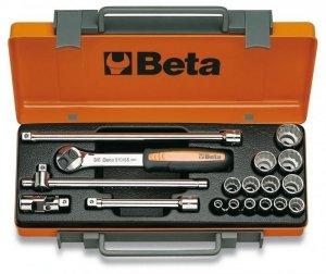 Beta 910AS/C13 Zestaw nasadek 3/8 z wyposażeniem 13szt