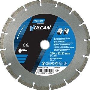 NORTON Tracza diamentowa beton 125x22,23mm VULCAN UNI