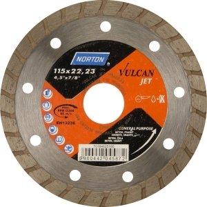NORTON Tracza diamentowa beton 230x22,23mm VULCAN JET
