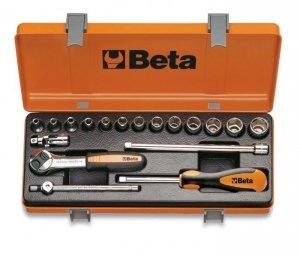 Beta 900/C13-5 Zestaw nasadek 1/4+ akcesoria 18szt