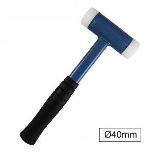 JBM Młotek bezodrzutowy nylonowy 0.68kg / 40mm