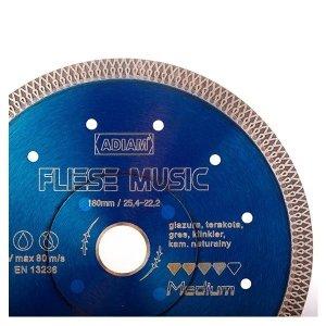 Adiam tarcza diamentowa FLIESE MUSIC Ø230mm x 25,4-22,23mm