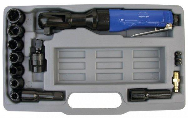 """ADLER Zestaw-klucz zapadkowy 1/2"""" 61Nm + nasadki 9-19mm"""