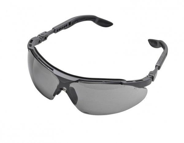 Okulary ochronne, szare szkła