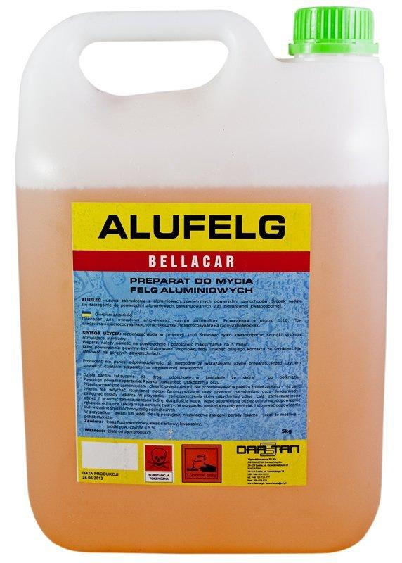 Płyn do mycia felg aluminium 1kg ALUFELG