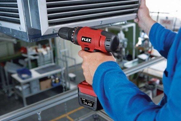 Wkrętarka FLEX ACH 14,4 udarowy śrubokręt wiercący z akumulatorem 14,4 V  (348.430)