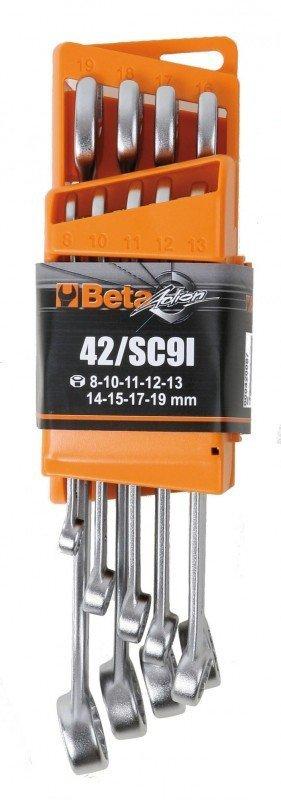 Beta 42/SC9I Zestaw 9 kluczy płasko-oczkowych w etui