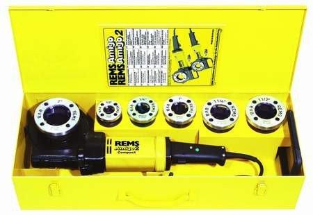 REMS Amigo 2 Set M 20-50 Gwintownica elektryczna