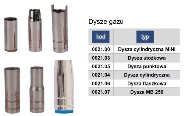 ADLER Dysza gazu MIG/MAG flaszkowa TW15