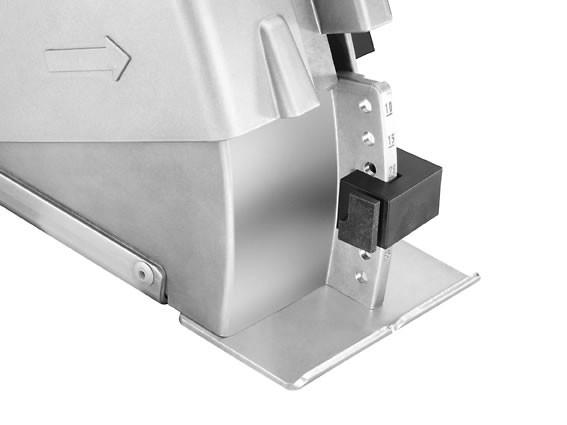 Bruzdownica FLEX MS 1706 FR-Set do cięcia przez popychanie i ciągnięcie - zestaw (329.673)