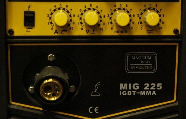 MAGNUM PÓŁAUTOMAT MIGOMAT MIG 225 IGBT/MMA