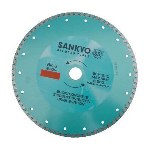 Tarcza diamentowa 180 mm do cięcia ceramiki kamienia RK-7 ciągła 180 x 2,2 x 6 x 22.2mm