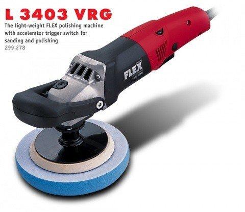 Polerka z regulatorem prędkości FLEX L 3403 VRG (299.278)