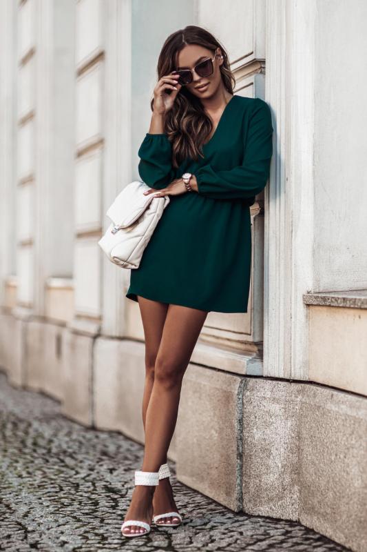 Sukienka Malvina - zielony