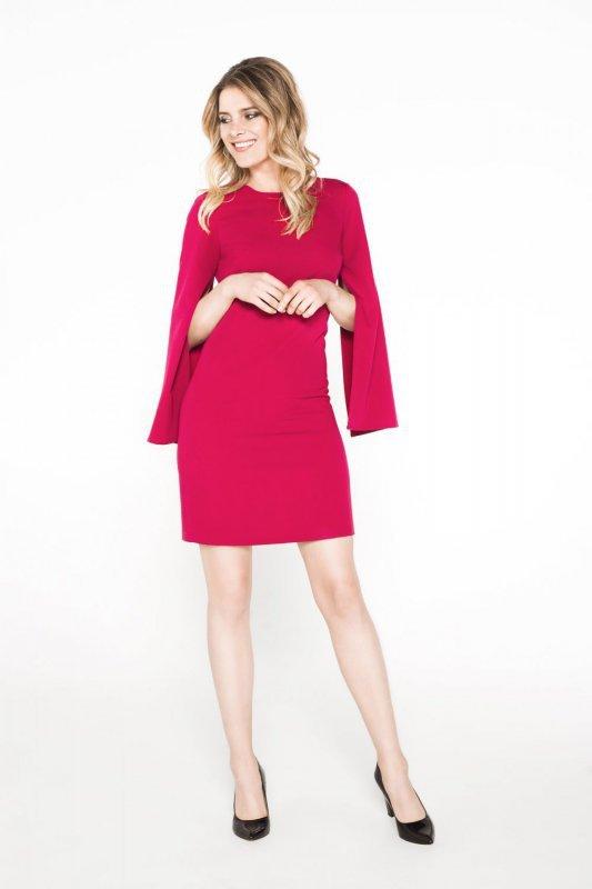 Sukienka Clarissa - bordo