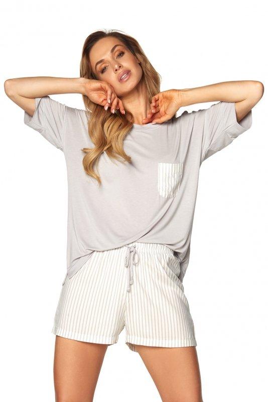 Piżama Vicki SAL-PY-1171 Szara