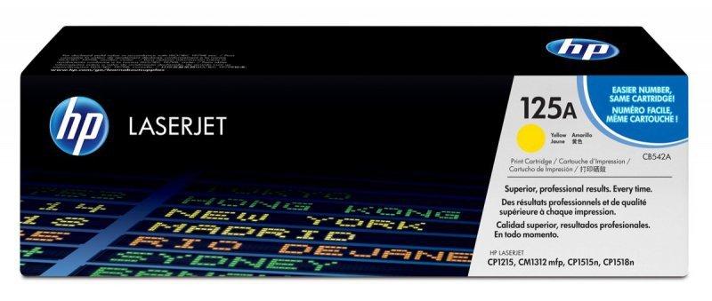 HP Inc. Toner 125A CLJ CP1215 Żółty 1.4k CB542A
