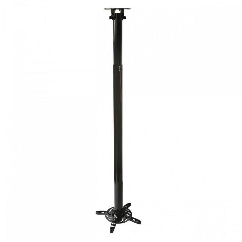 ART UCHWYT sufitowy 110-197cm DO PROJEKTORA 15kg P-104 uniwersalny pełna regulacja