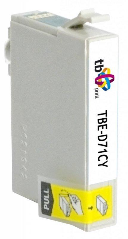 TB Print Tusz do Epson T071240 TBE-D71CY CY 100% nowy