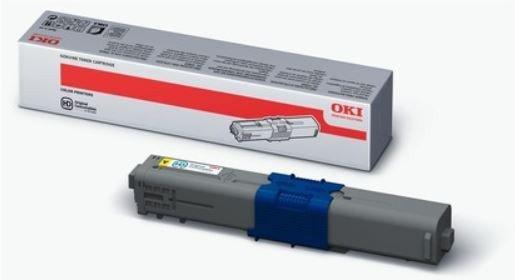 OKI Toner Żółty 2K  C310 C330 C510 C530