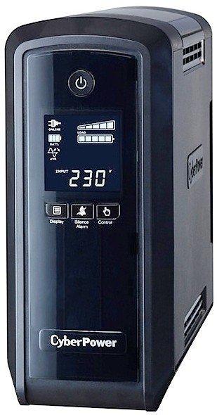 CyberPower Zasilacz awaryjny CP900EPFCLCD 540W/LCD/USB/4ms/ES