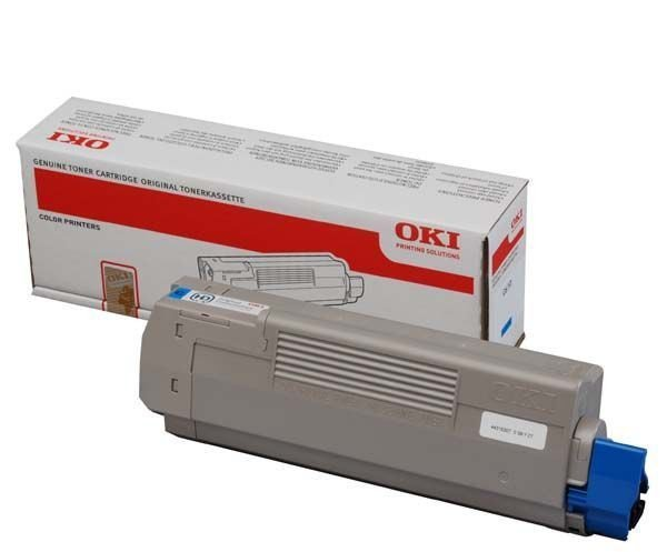 OKI Toner-C610 CYAN 44315307