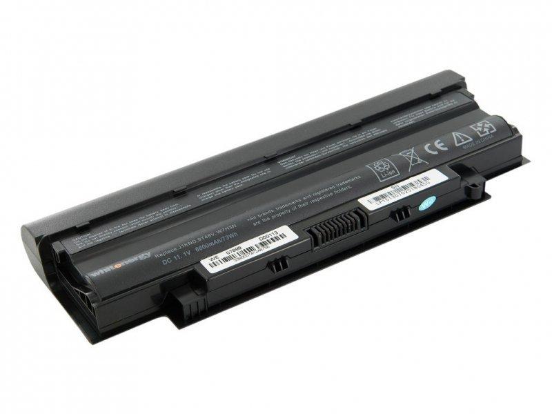 Whitenergy High Capacity Bateria Dell Inspiron 13R/14R 11,1V 6600mAh