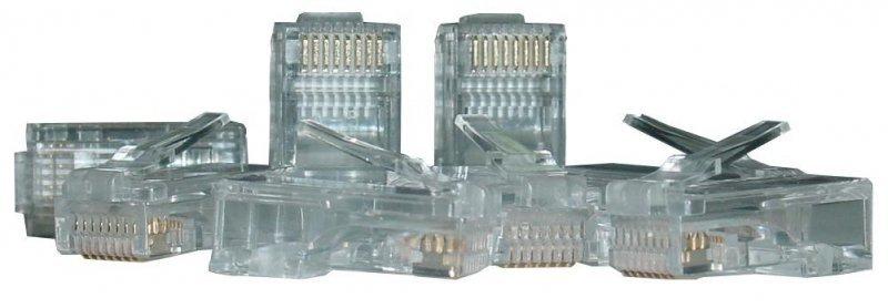 ASSMANN Wtyk RJ45 kat.6 uniwersalny drut/linka 8P8C 100szt