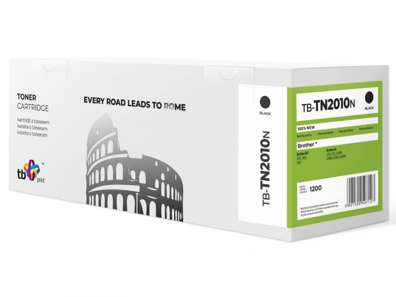 TB Print Toner do Brother TN2010 TB-TN2010N BK 100% nowy