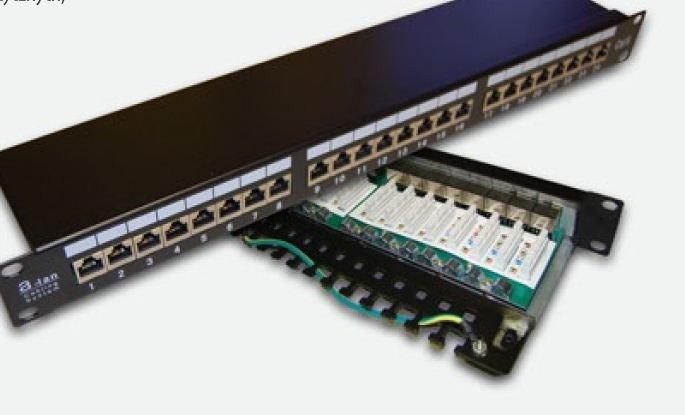 Alantec Patchpanel FTP 24-porty kat 6 pełny