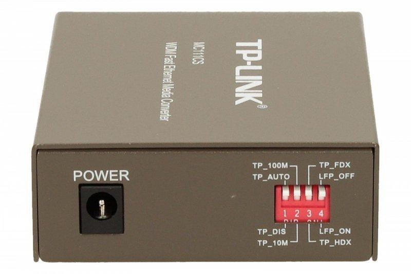TP-LINK MC111CS media konwerter 10/100 WDM